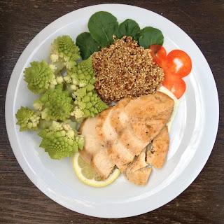 Lemon-thyme Chicken with Quinoa