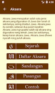 Kamus Bahasa Dan Aksara Jawa Mga App Sa Google Play