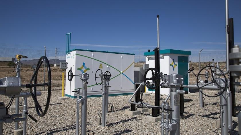 El gas natural ha llegado ya a varias poblaciones del Levante almeriense.