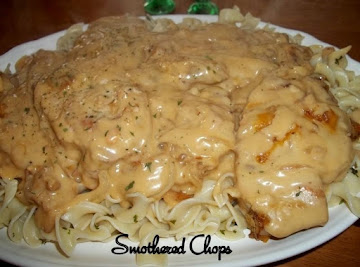 Smothered Chops / Oven Or Crock Pot Recipe