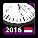 Indonesia 2016 Calendar