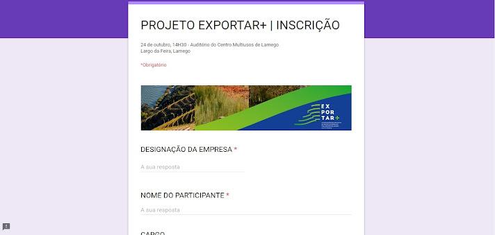 """""""Projeto EXPORTAR+"""" avalia potencial das empresas de Lamego"""