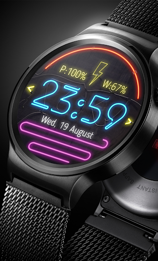 Watch Face Neon