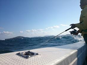 Photo: 強烈な波も襲ってきます!