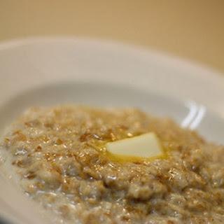 Overnight Crock Pot Oatmeal