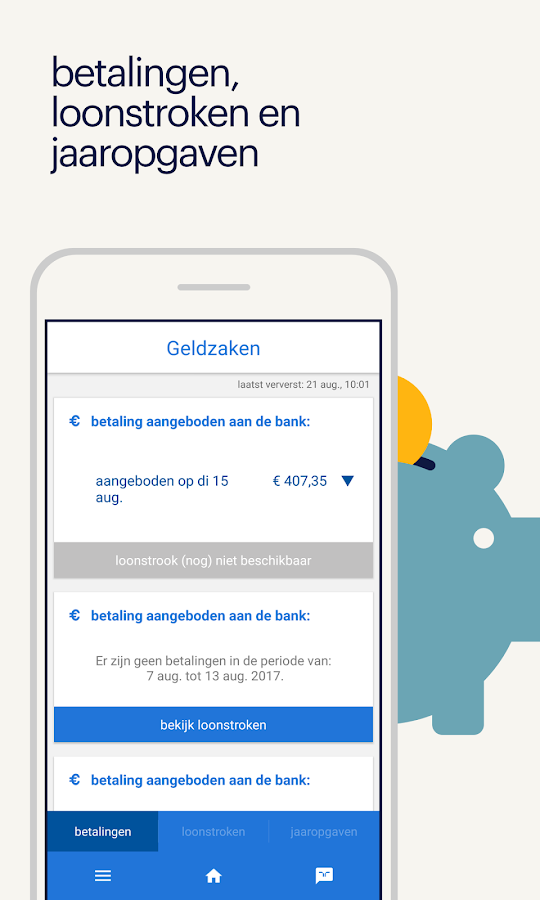 Mijn Randstad- screenshot