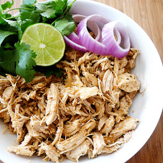 Crock Pot Mexican Chicken.