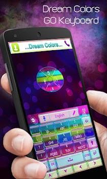 Dream Colors Go Keyboard Theme