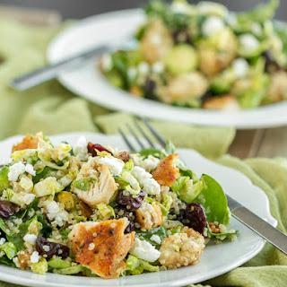 Quinoa, Cherry and Chicken Salad