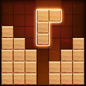 Block Puzzle Wood Classic Brick Blilz Free Game