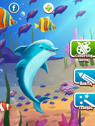 Dolphins and fish