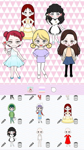 My Webtoon Character Girls - K-pop IDOL Maker screenshots 6