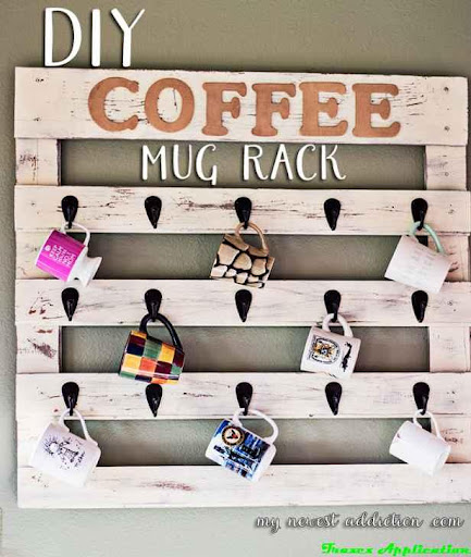 DIY咖啡杯存储理念