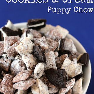 Cookies and Cream Puppy Chow