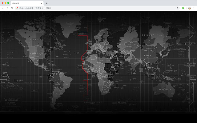Atlas Map Top HD Wallpapers New Tabs Themes