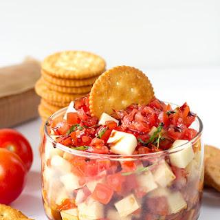 Fresh Mozzarella Basil Cracker Recipes