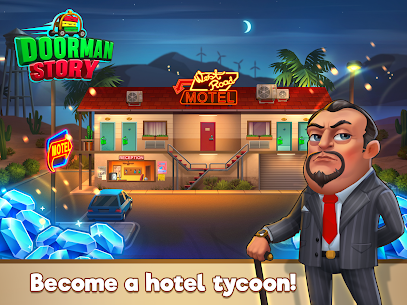 Doorman Story: Hotel team Tycoon Mod Apk (Unlimited Gold + Diamonds) 10
