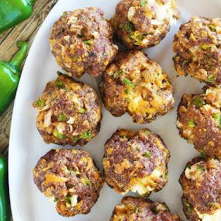 Jalapeno Popper Meatballs