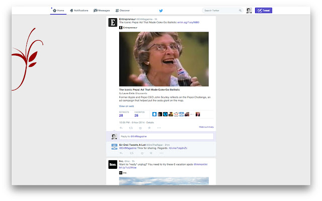 Twitter Cards expander