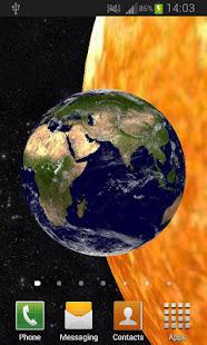 Solar System 3D Free Live Wallpaper 2