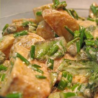 Creamy Caper and Roasted Potato Salad