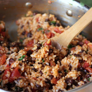 Mexican Tomato Rice and Beans.