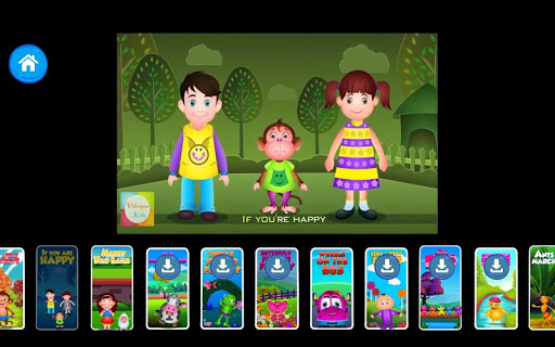 Kids Top Nursery Rhymes Videos - Offline Learning FiveLittle_v4.7 12