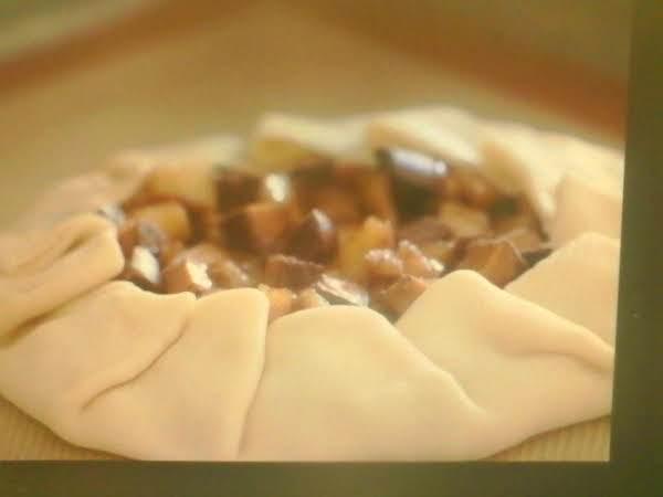 Chocolate And Caramel Apple Pie