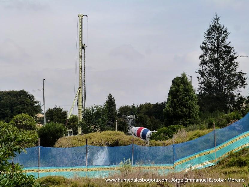 Construcciones en inmediaciones del Humedal El Salitre
