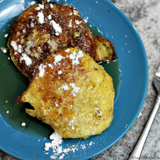 Leftover Biscuit French Toast.