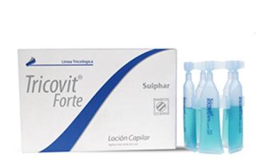Loción Tricovit Forte   Capilar X10Ml.