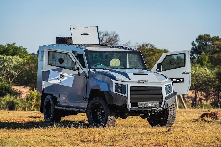新的MAX 3 Troopy最多可以搭载8人。