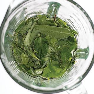 DIY Herbal Liqueur.