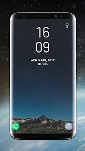 Lock Screen Galaxy S8 Plus App with Pin Lock,Flash - náhled