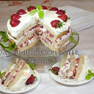 Danish Heirloom Layer Cake