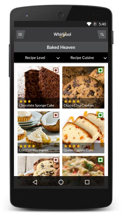 Whirlpool Culineria- screenshot