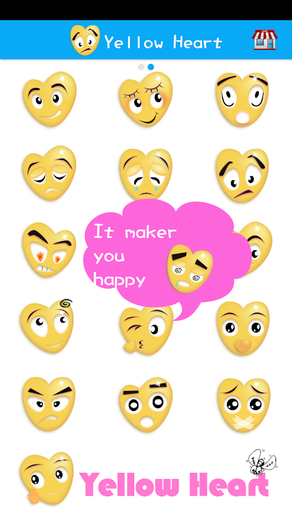 Sticker Heart Emoji Keyoard – (Android Apps) — AppAgg