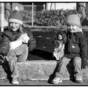 All bundled up by Scott Hemenway - Babies & Children Children Candids
