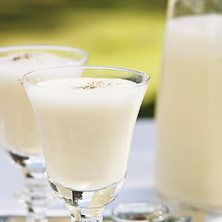 Blended Eggnog Cocktail