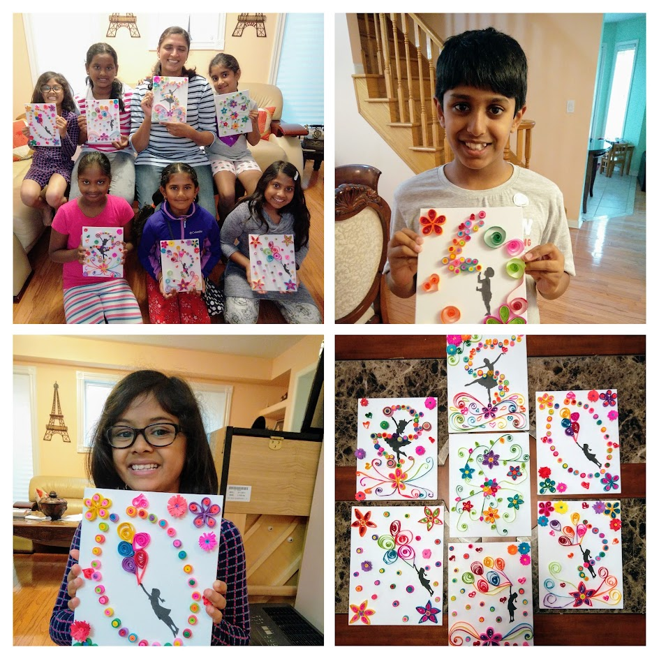 paper quilling party