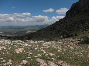 Photo: This pass is the highest point of our entire walk (3,700 ft., 1150 m.)