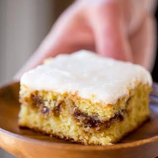 Honey Bun Cake (No Cake Mix!).
