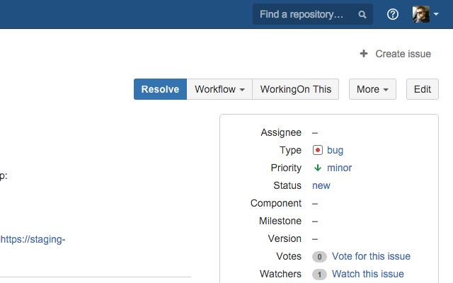 WorkingOn Bitbucket integration