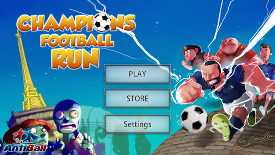 Champions Football Run- screenshot thumbnail