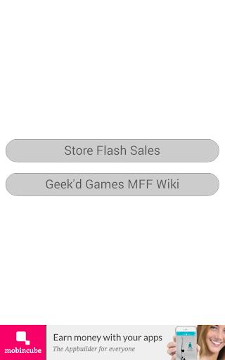 Geek'd Games MFF Alerts