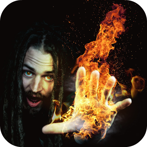Fire Photo Effects Icon