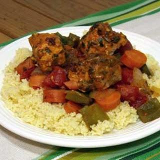 Moroccan Salmon Tajine