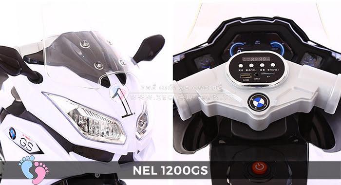 Moto điện 3 bánh cho bé NEL-1200GS 19