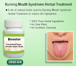 Natural Treatment for Burning Mouth Syndrome