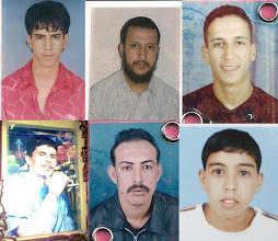 Photo: los seis acribillados